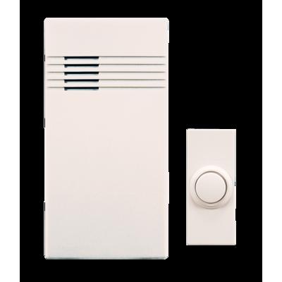 wireless doorbell kit heathzenith rh heath zenith com Desa Wireless Door Chime Plug in Doorbell Desa